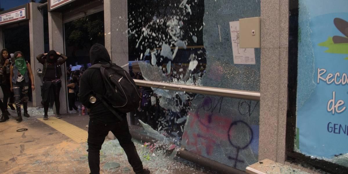 Policía capitalina actuó conforme a lo establecido ante marchas: Orta