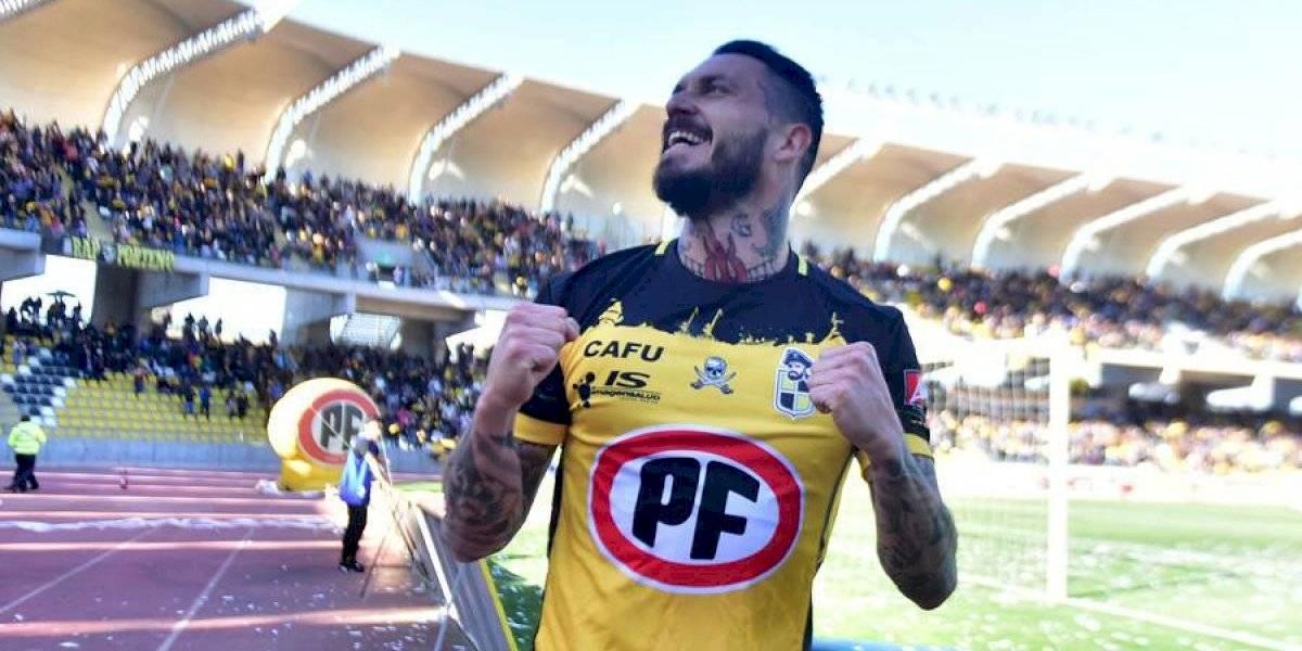 Mauricio Pinilla sigue en racha goleadora y le dio la victoria a Coquimbo Unido