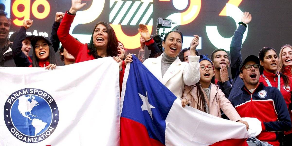 Chile recibe la bandera panamericana y comienza la preparación a Santiago 2023