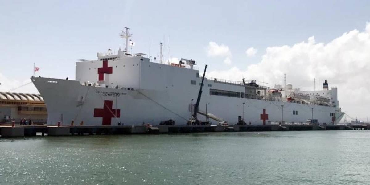 Buque hospital de EE.UU. llega al norte de Colombia para misión humanitaria