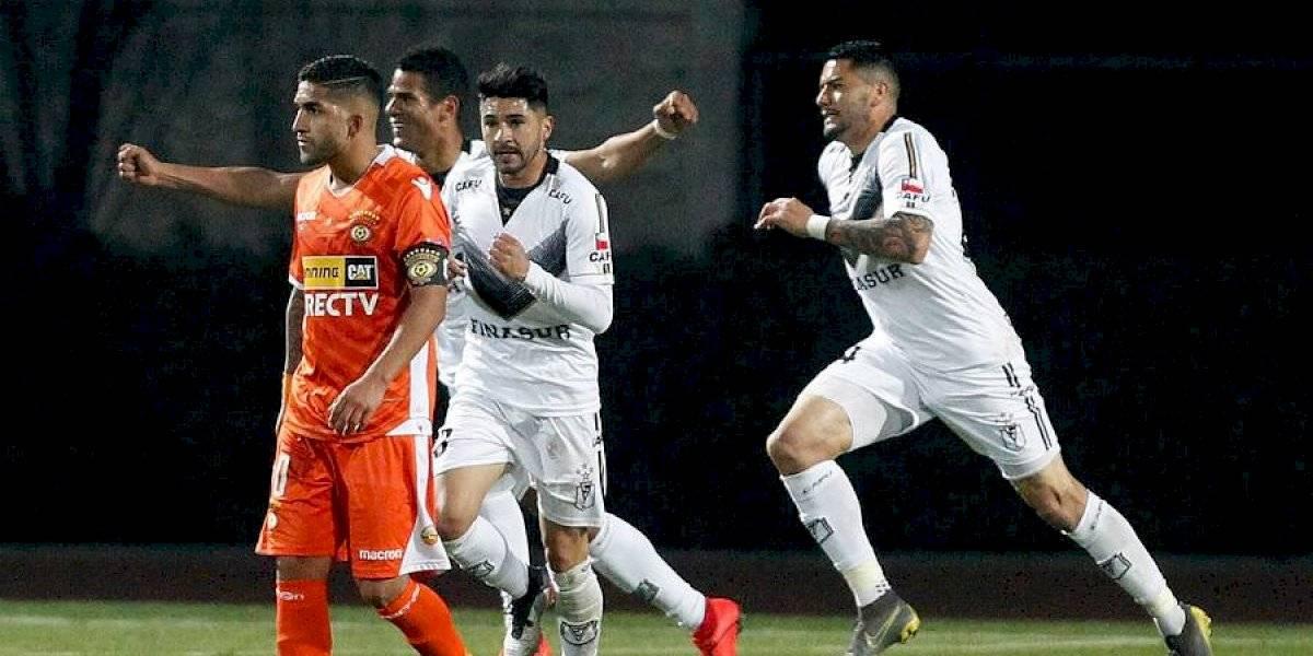 Cobreloa no supo liquidar a Santiago Morning y resignó empate que enciende la Primera B