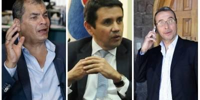 Correa, Solís y Alvarado con orden de captura