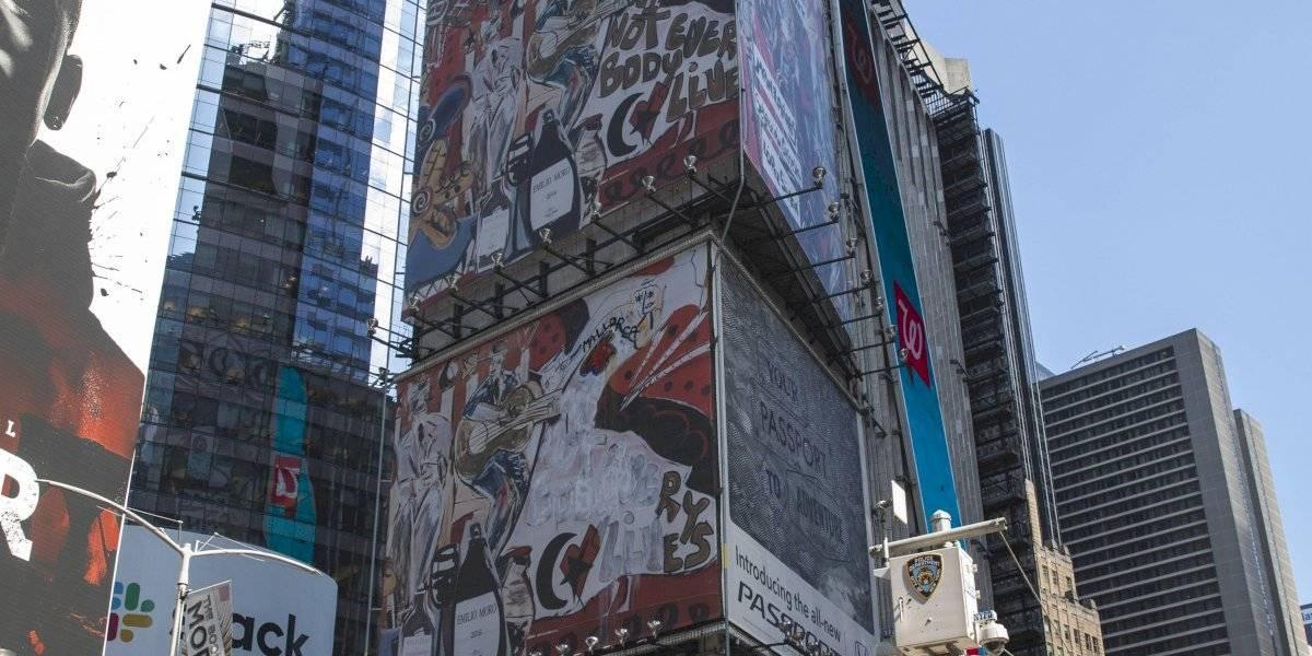 Sube el vino español al cielo de Times Square con Domingo Zapata