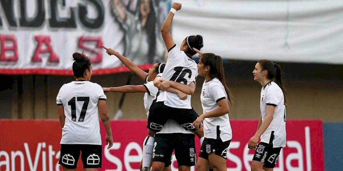 Colo Colo goleó a Audax Italiano y sigue firme en la cima del torneo femenino