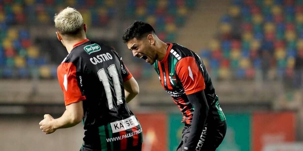 Palestino derrotó a Audax Italiano y se metió en zona de Copa Sudamericana