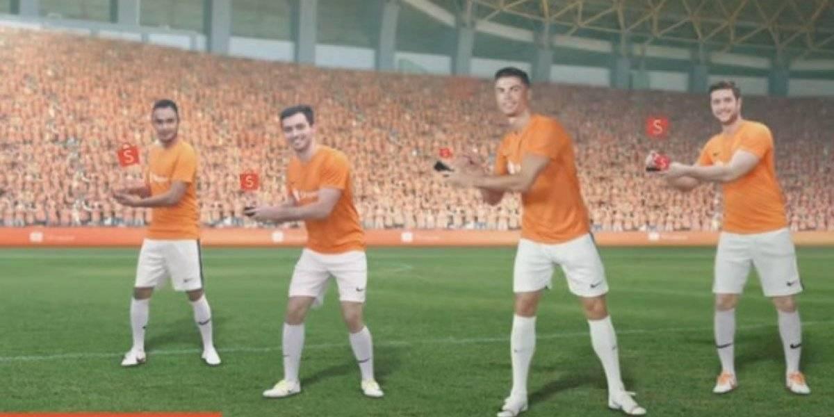 Cristiano Ronaldo protagoniza comercial que provoca burlas en el mundo