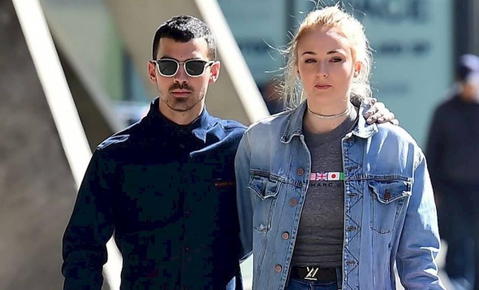 Sophie Turner presume el look con el que sorprendió a Joe Jonas