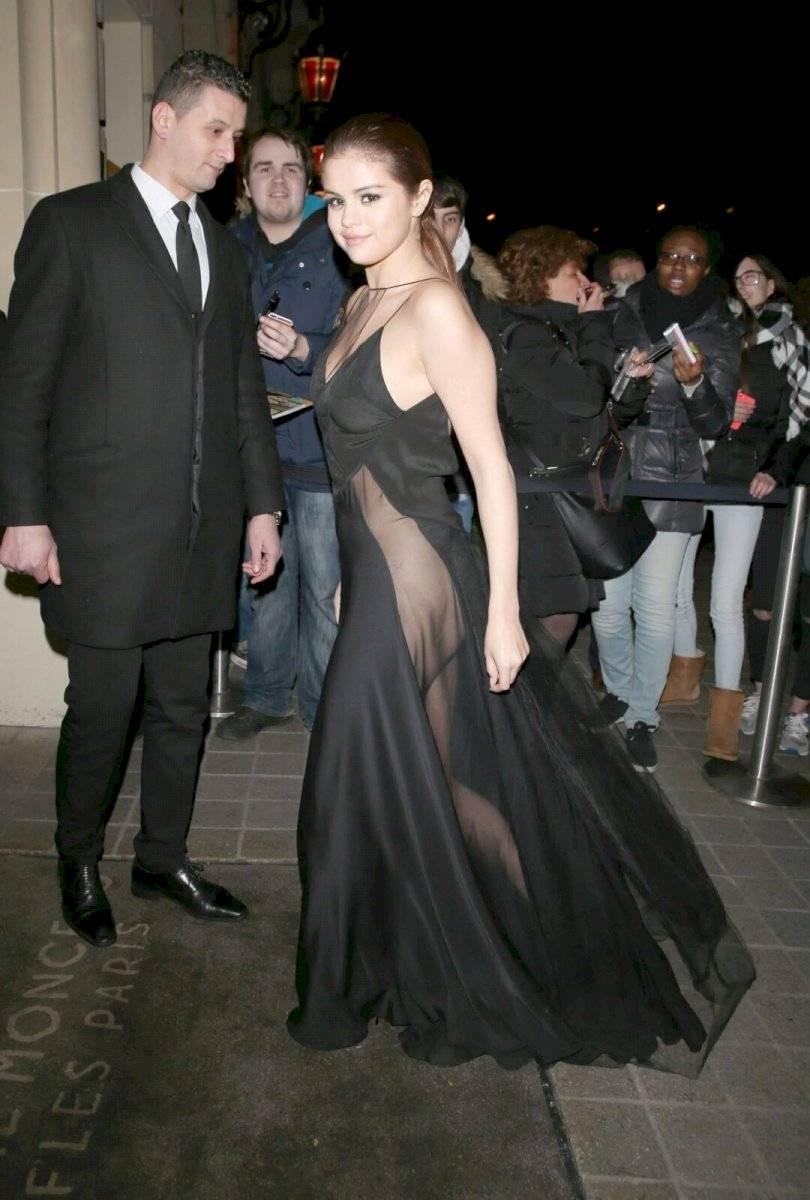 El vestido que deja a la imaginación de Selena Gomez