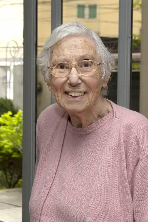 A escritora e historiadora Anna Gedankien