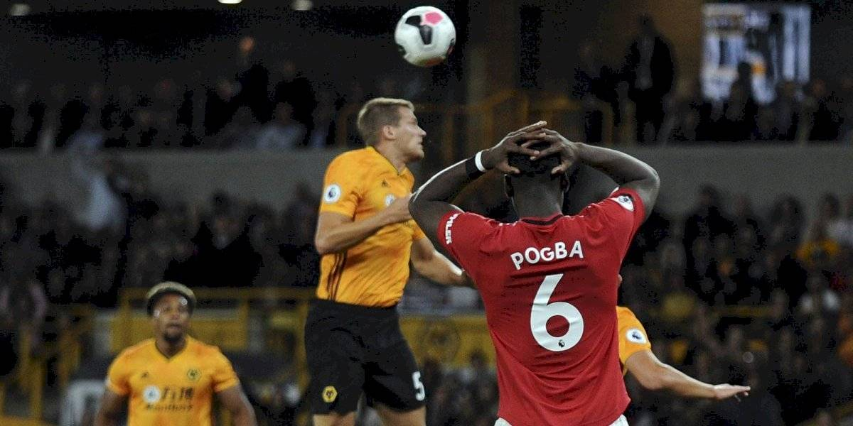 Pogba perdió un penal y Manchester United resignó un empate sin Alexis ante Wolves