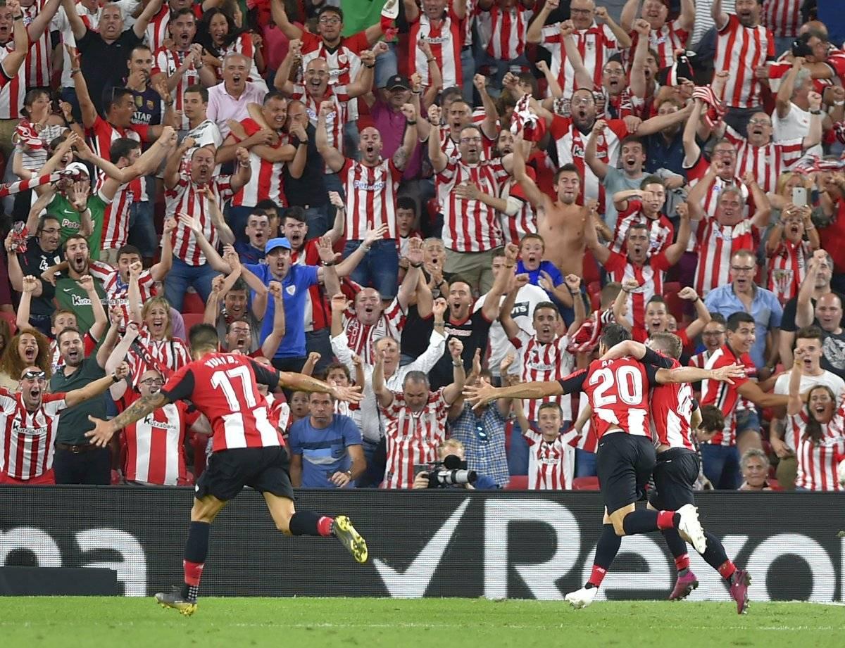 Aritz Aduriz y su gol al Barcelona