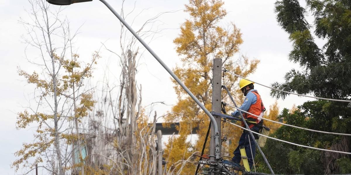 Ya empezamos: Enel activa plan preventivo ante posibilidad de vientos en la precordillera