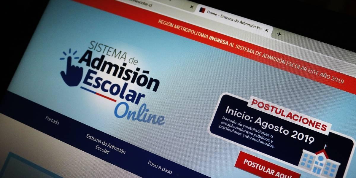 Pasos y consejos para postular: este lunes comienza el Sistema de Admisión Escolar en la Región Metropolitana