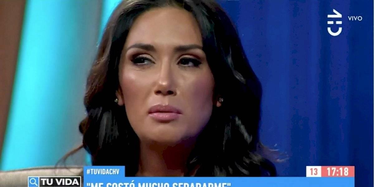 """Pamela Díaz aclara los rumores: """"Efectivamente estoy separada"""""""