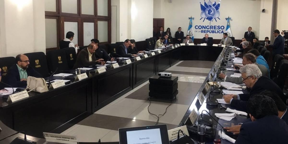 Directiva propone cambiar de día agendas legislativas