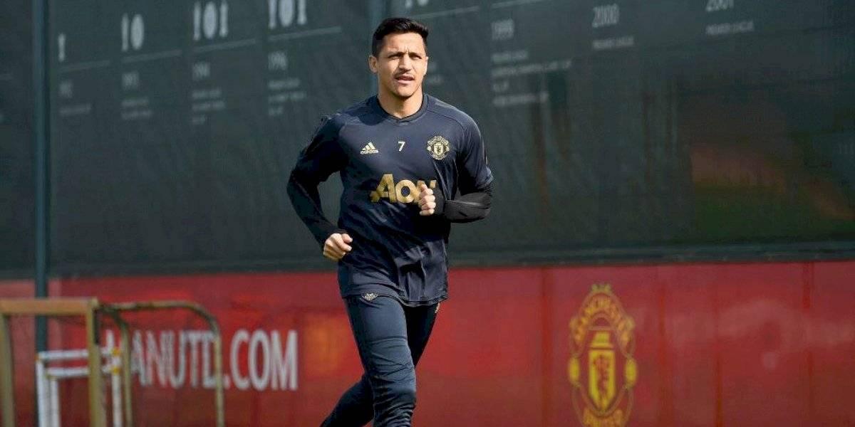 """Solskjaer pone dudas al futuro de Alexis en el United: """"Hasta este momento sigue siendo jugador nuestro"""""""
