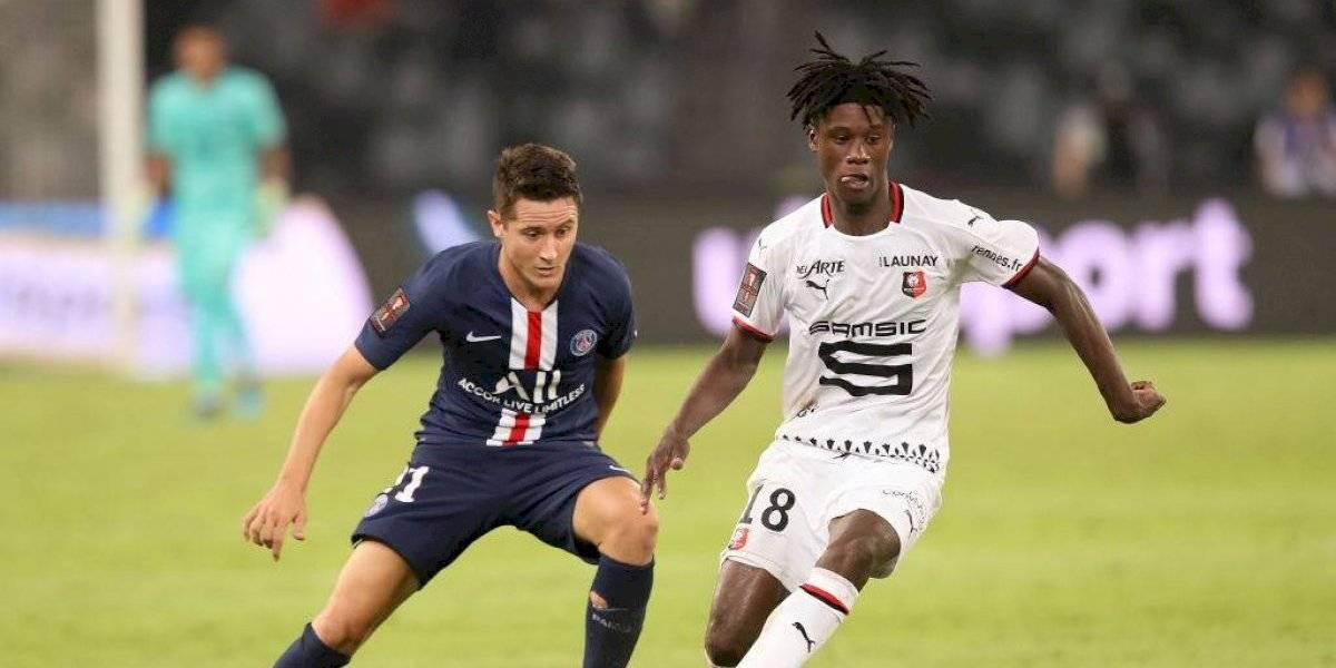 ¿Nace una estrella? La joya de 16 años del Rennes que dejó loco al PSG en Francia
