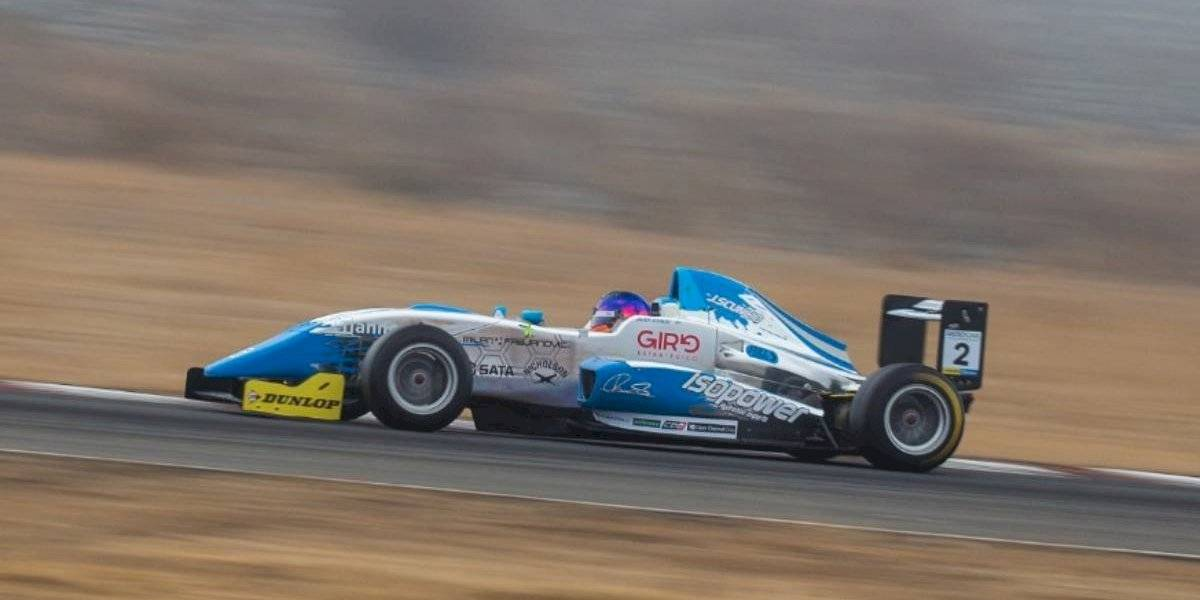 Javier Scuncio da el golpe y captura el liderato de la Fórmula Codasur
