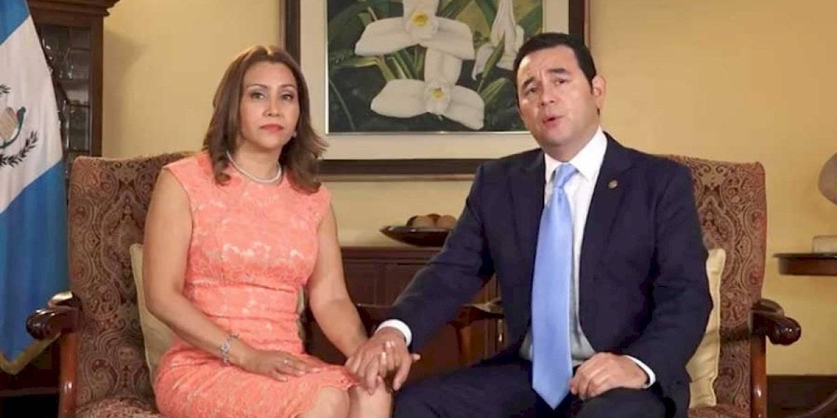"""Jimmy Morales: """"Siempre hemos respetado el debido proceso, hemos confiado en el imperio de la ley"""""""