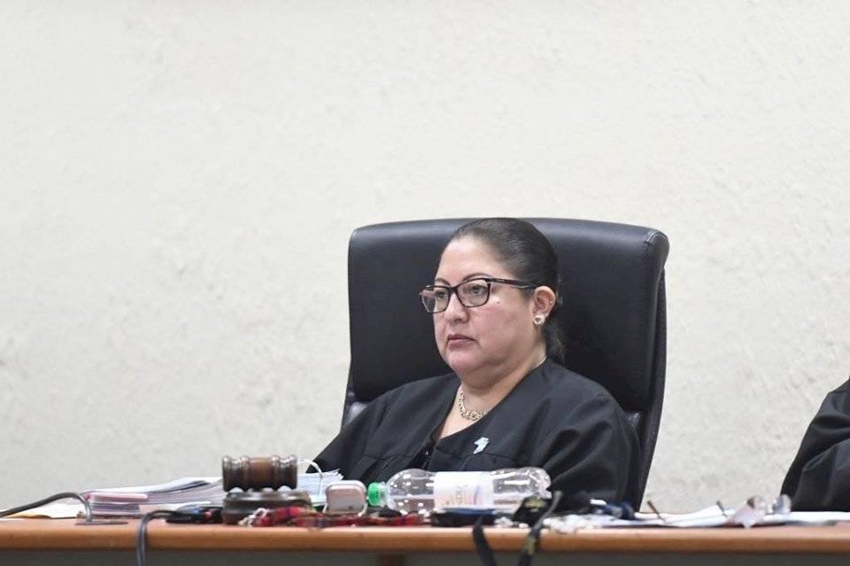 La jueza Edna Maxia llamó la atención a Samuel Morales. Foto: Omar Solís
