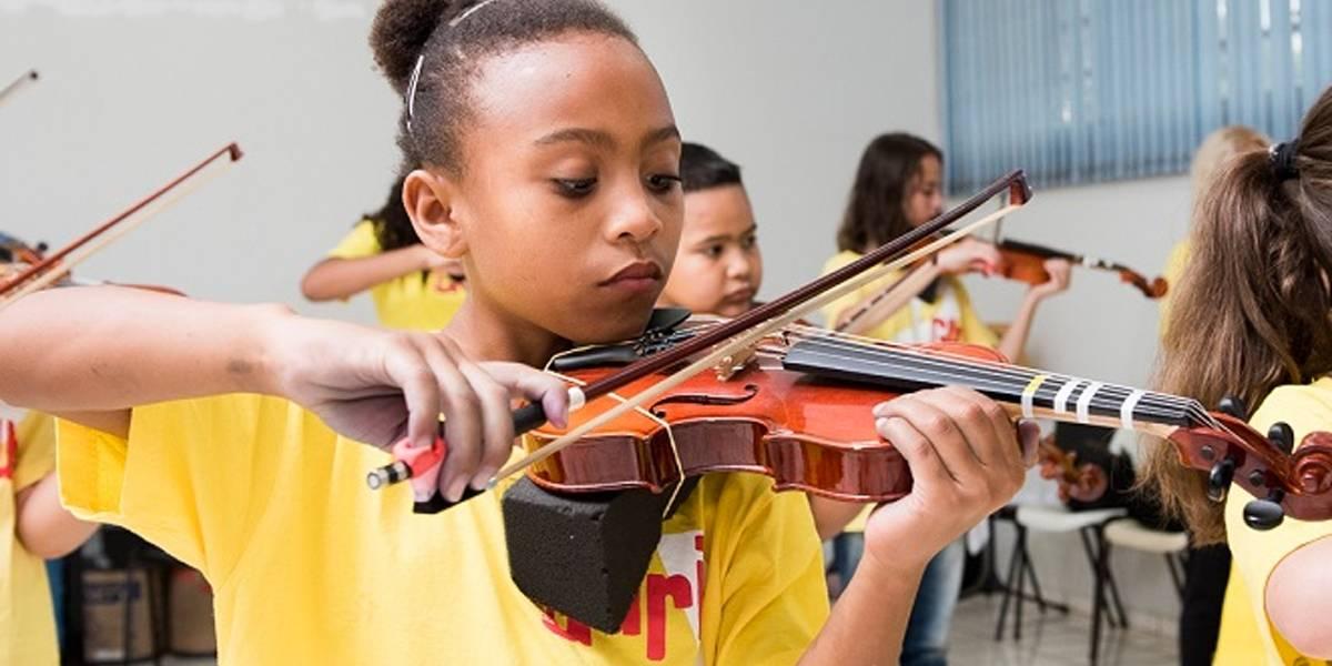 Projeto Guri tem vagas para interessados em estudar música