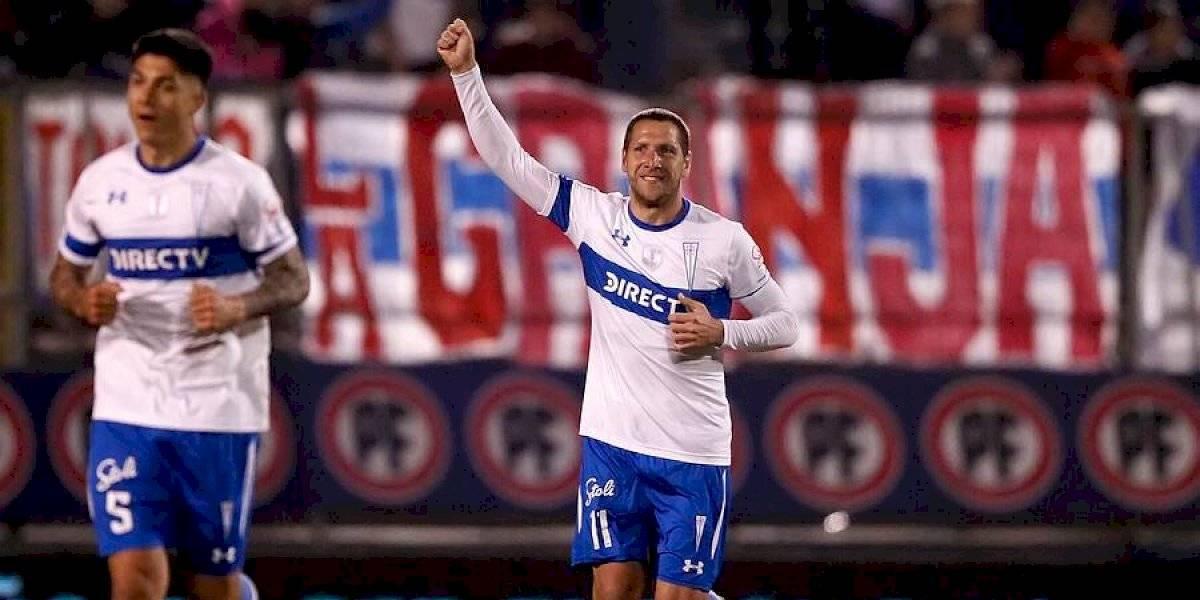 """El """"boom"""" goleador de Luciano Aued en la UC asombra en Argentina: """"Encontró la mejor versión de su carrera"""""""