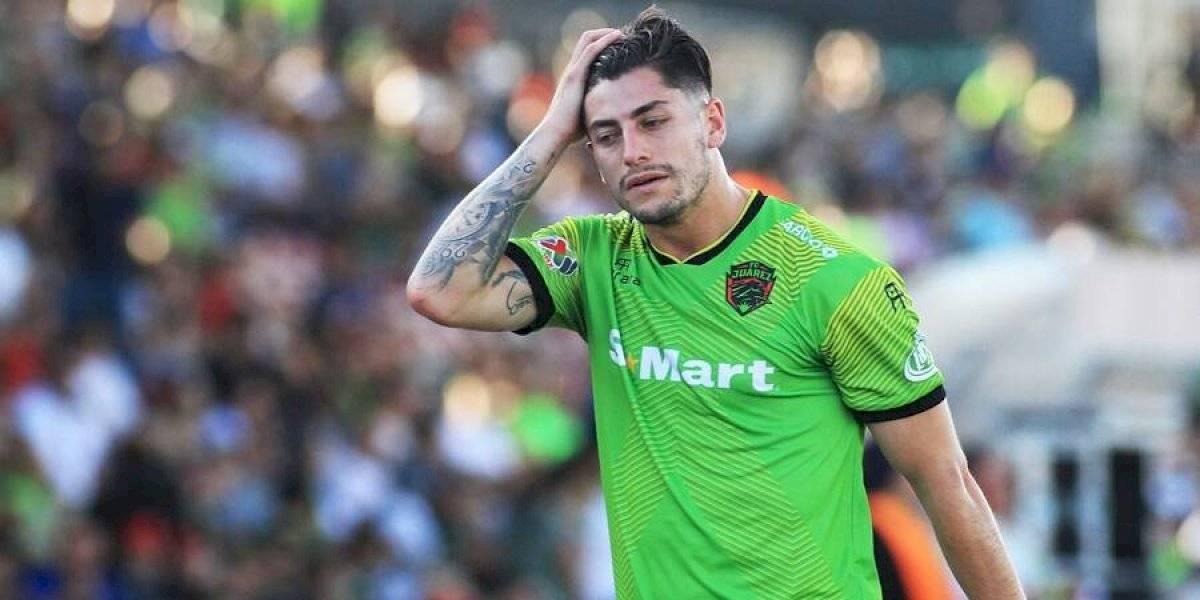 El VAR sacó de la cancha a Ángelo Sagal cuando apenas se jugaban 6 minutos