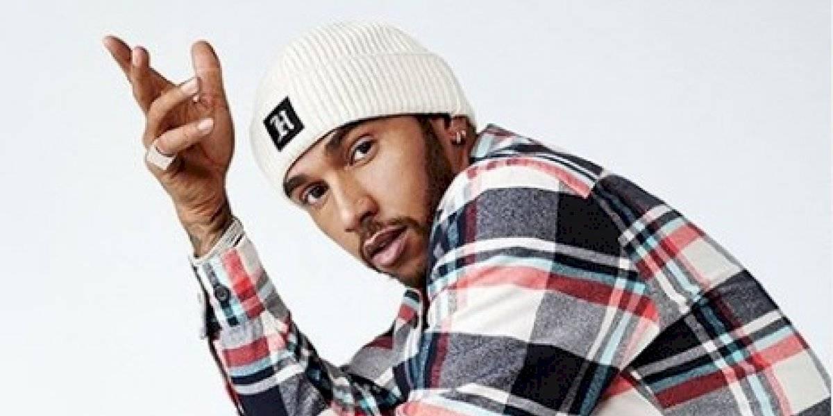 Lewis Hamilton se presenta, una vez más, como diseñador de ropa
