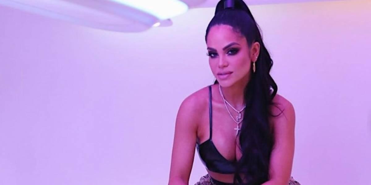El nuevo video de Natti Natasha moviendo sus caderas y mostrando su brasier