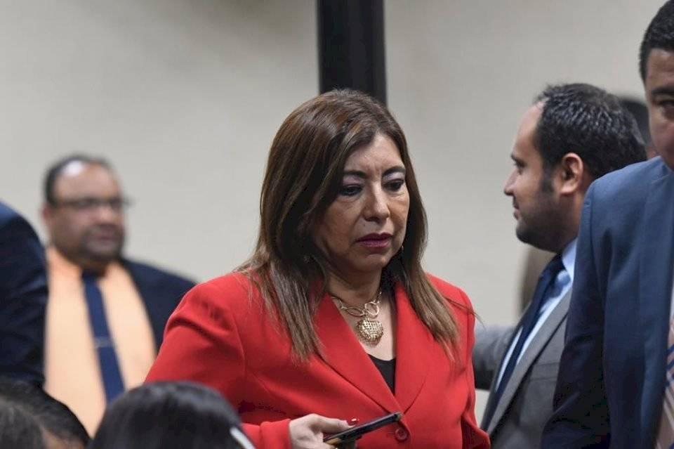 Anabella de León fue condenada. Foto: Omar Solís