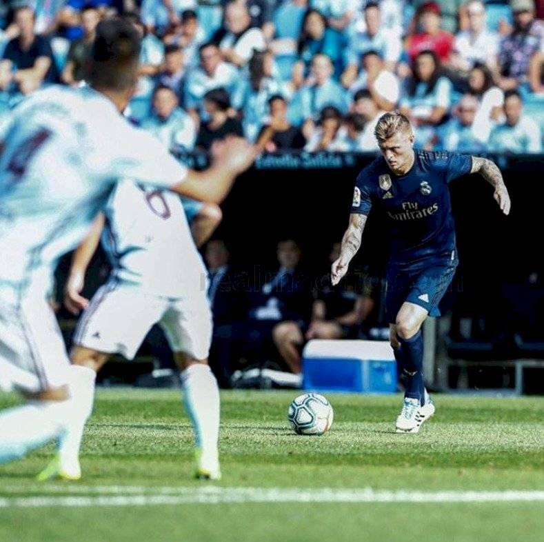 Toni Kroos y su golazo al Celta de Vigo