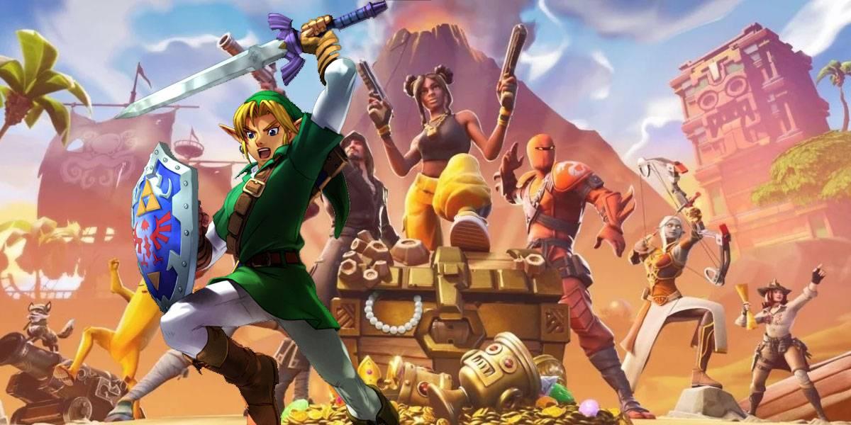 The Legend of Zelda llega a Fortnite gracias a los fans
