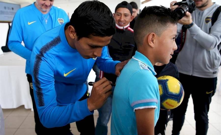 Boca Juniors firma convenio de cooperación con el Gobierno ecuatoriano EFE
