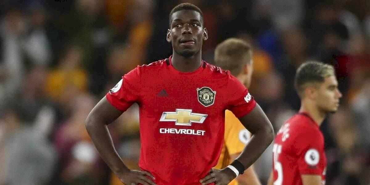 """Paul Pogba recibió insultos racistas tras perder un penal ante Wolves y Manchester United pide """"cero tolerancia"""""""