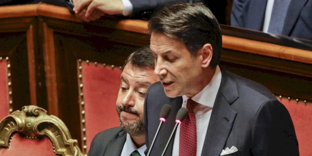 """Renunció el Primer Ministro de Italia Giuseppe Conte y se fue tratando de """"irresponsables"""" a sus detractores"""
