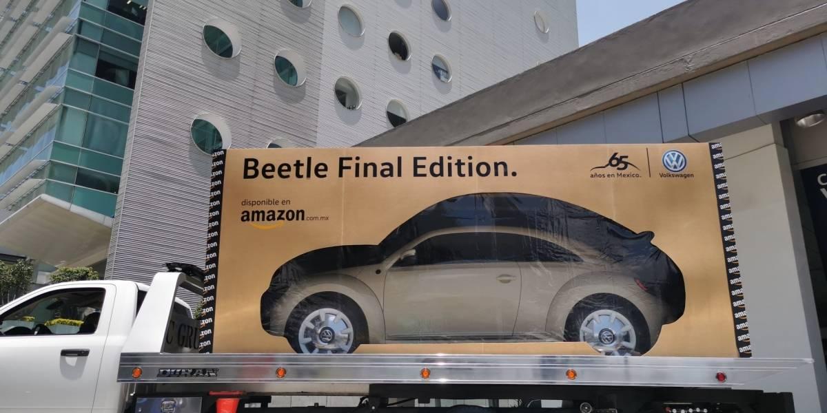 Amazon entregó el último Beetle Final Edition