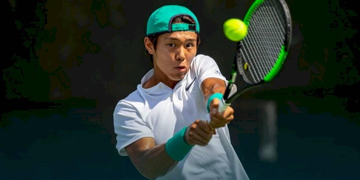 Duckhee Lee es pura historia: se transformó en el primer tenista sordo en ganar un partido en el circuito ATP