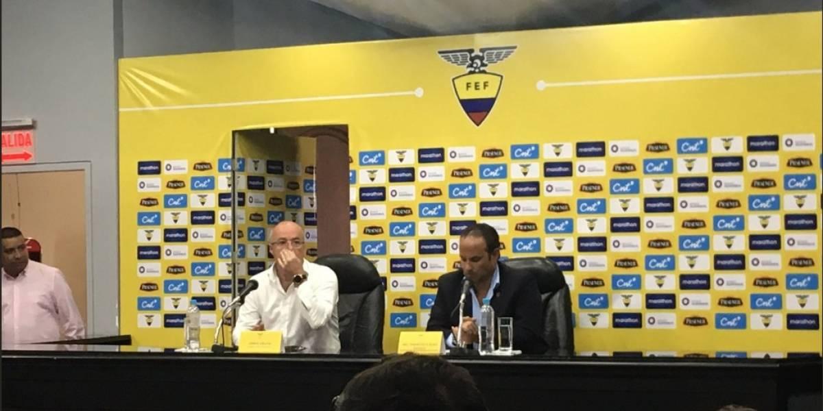 Ecuador anuncia convocatoria para amistoso contra Perú en fecha FIFA