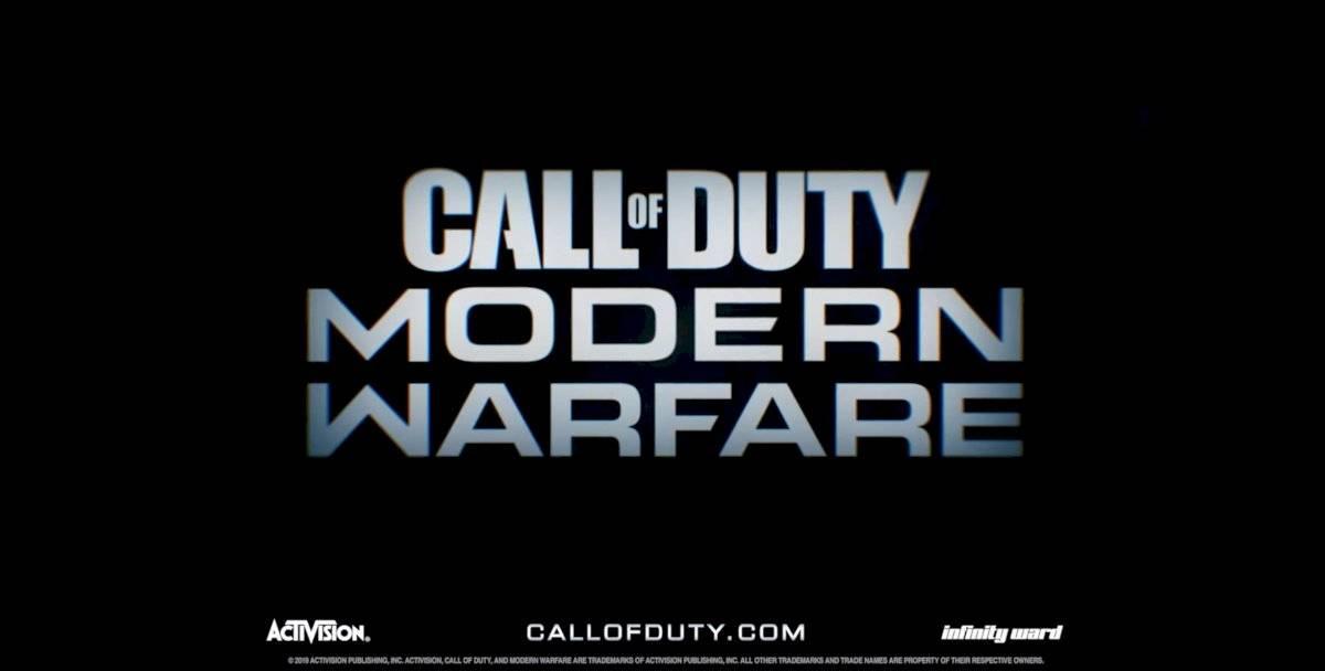 PS4 - Modern Warfare