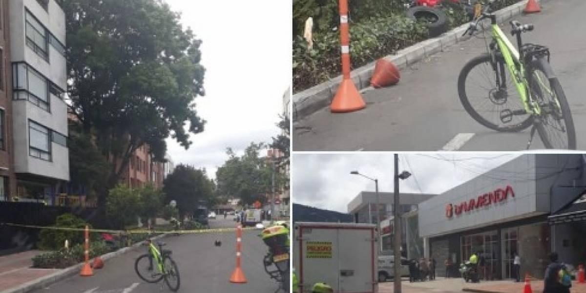 Balacera en el norte de Bogotá deja un presunto delincuente muerto y otro herido