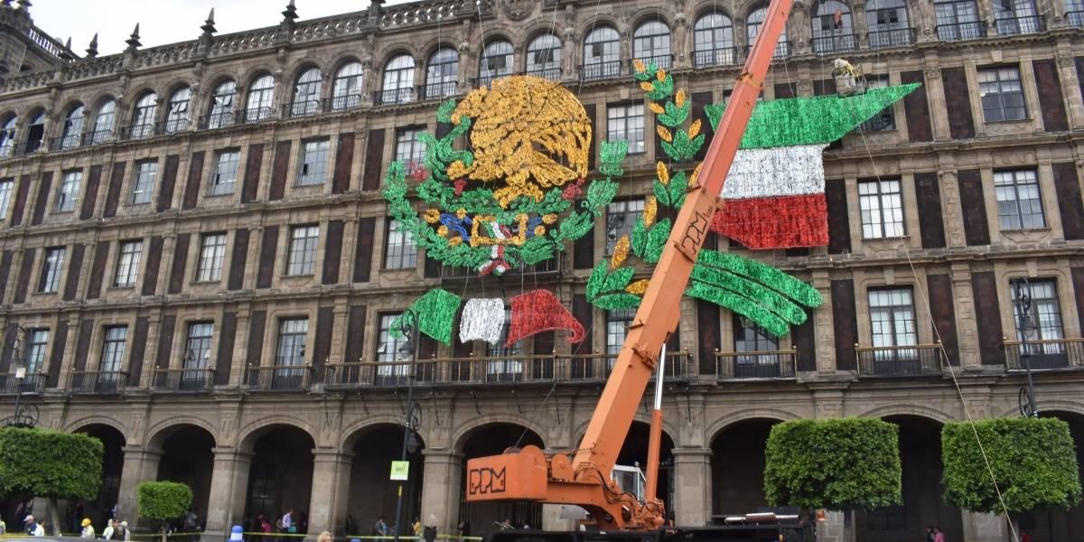 Comienza montaje del alumbrado decorativo para fiestas patrias