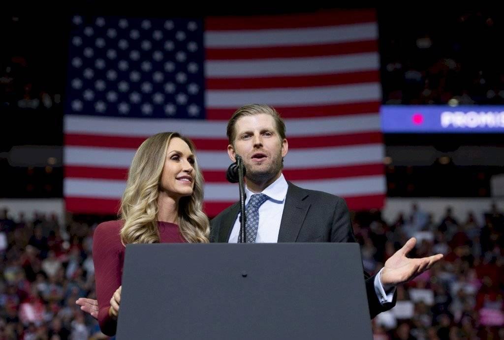 Lara y Eric Trump