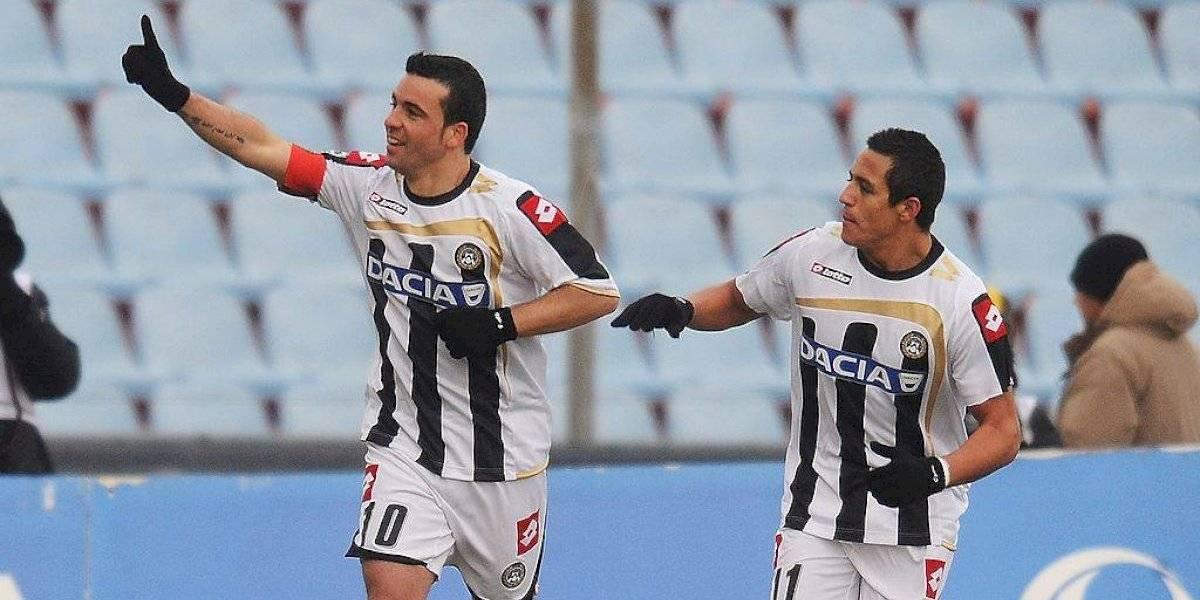 """Di Natale recordó su dupla con Alexis en Udinese y le pone fichas en su vuelta a Italia: """"Seguro marcará muchos goles"""""""