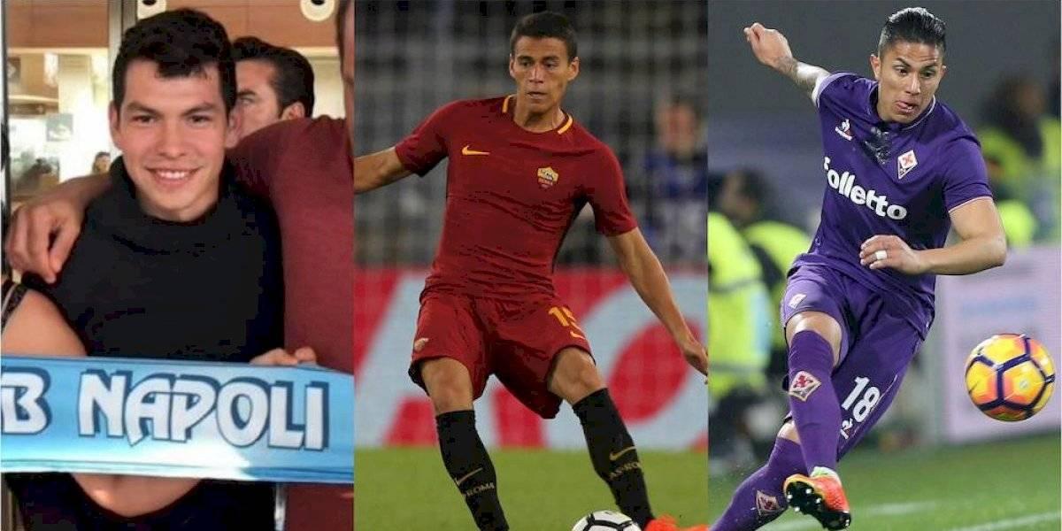 Los mexicanos que han emigrado al futbol italiano