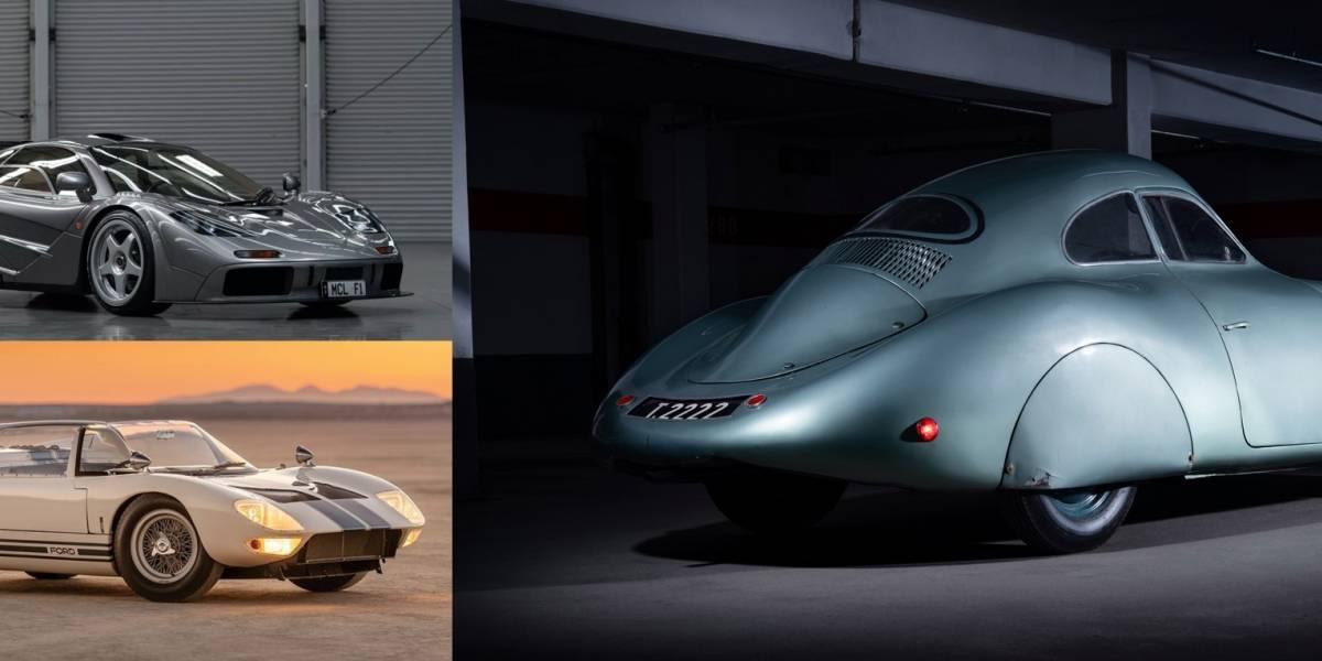 Estos fueron los autos subastados en Monterey Car Week 2019