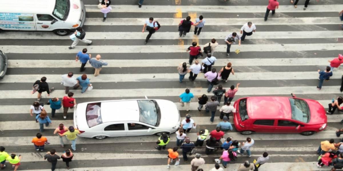 Accidentes a peatones son causados por acciones que ellos cometen: estudio