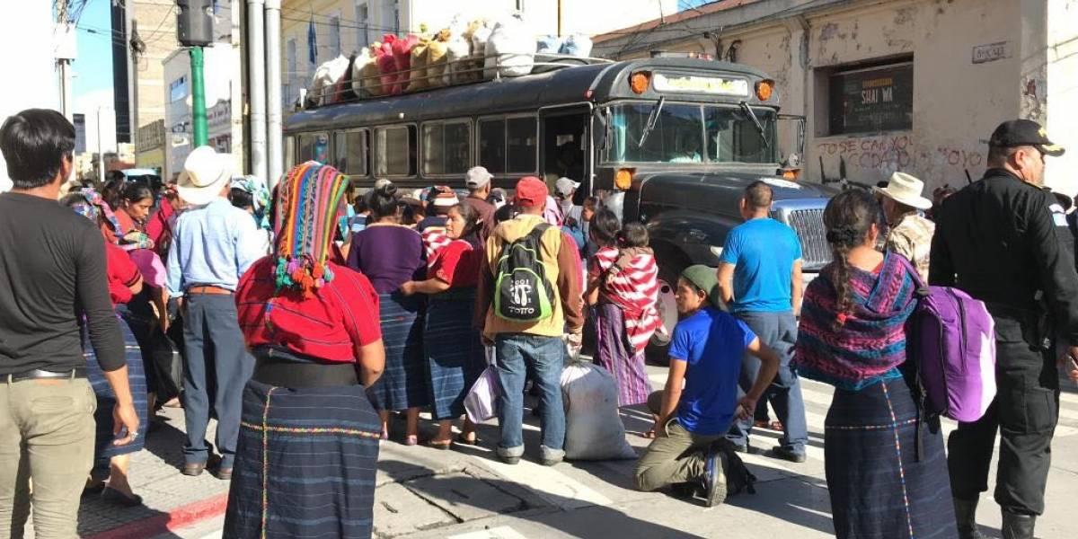Pobladores de Cajolá y Gobierno alcanzan acuerdo sobre tema de tierras