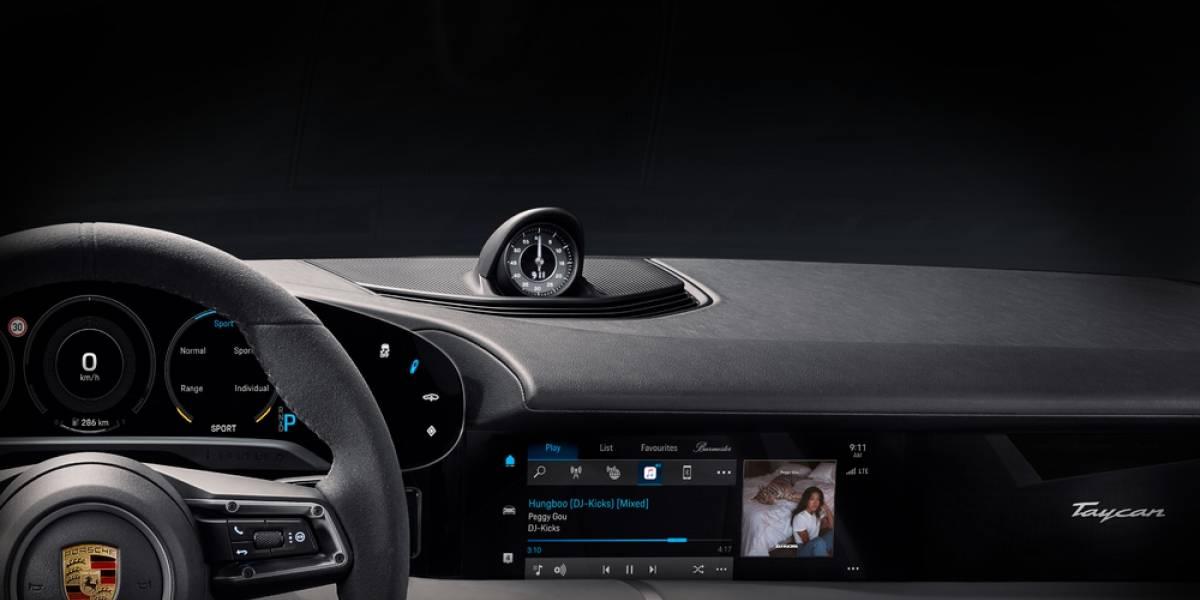 Porsche se asocia con Apple Music para dar la mejor experiencia en el Taycan