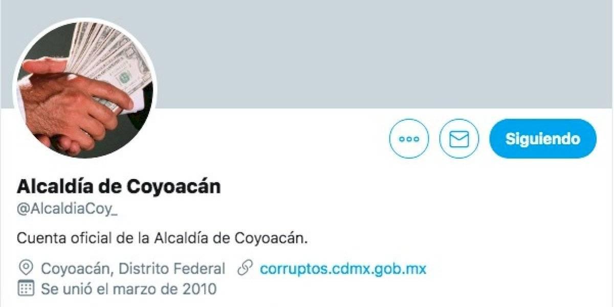 Hackean twitter de Alcaldía Coyoacán; amenazan de muerte a AMLO