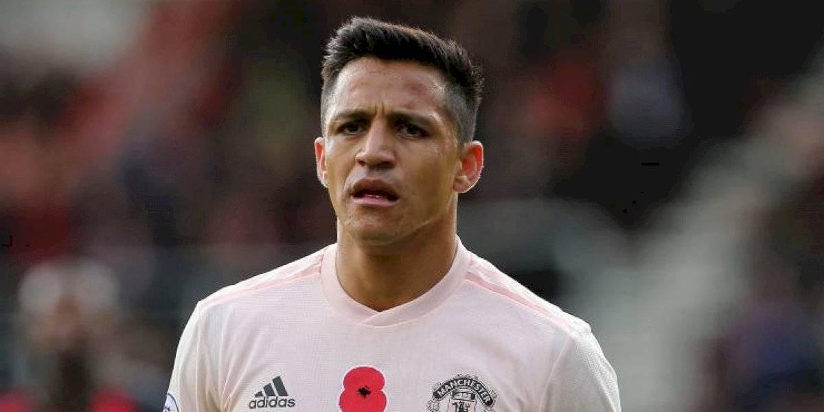 ¿Sus últimas horas en Manchester? Alexis jugó amistoso a puertas cerradas en el United a horas de partir al Inter